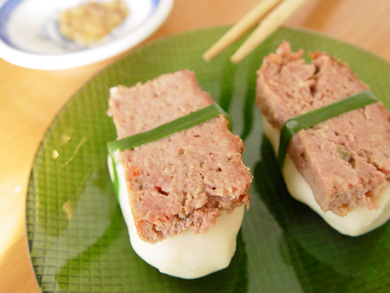 Adventures in Incongruity: Meatloaf Sushi