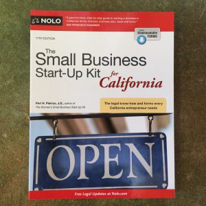 The Small Business Start-Up Kit for California by Peri Pakroo