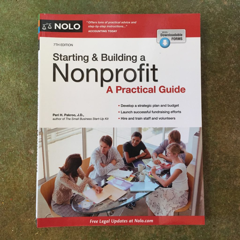 Starting and Building a Nonprofit by Peri Pakroo