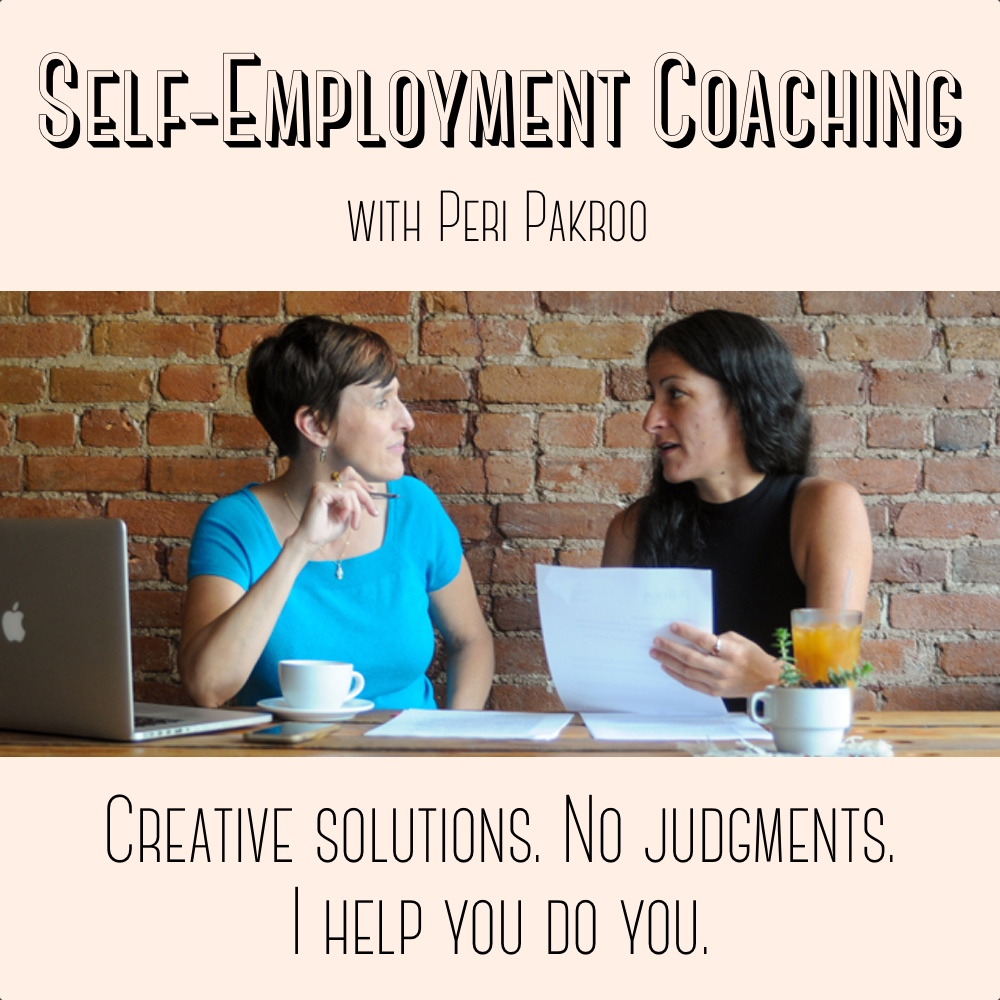 Self-Employment Coaching with Peri Pakroo