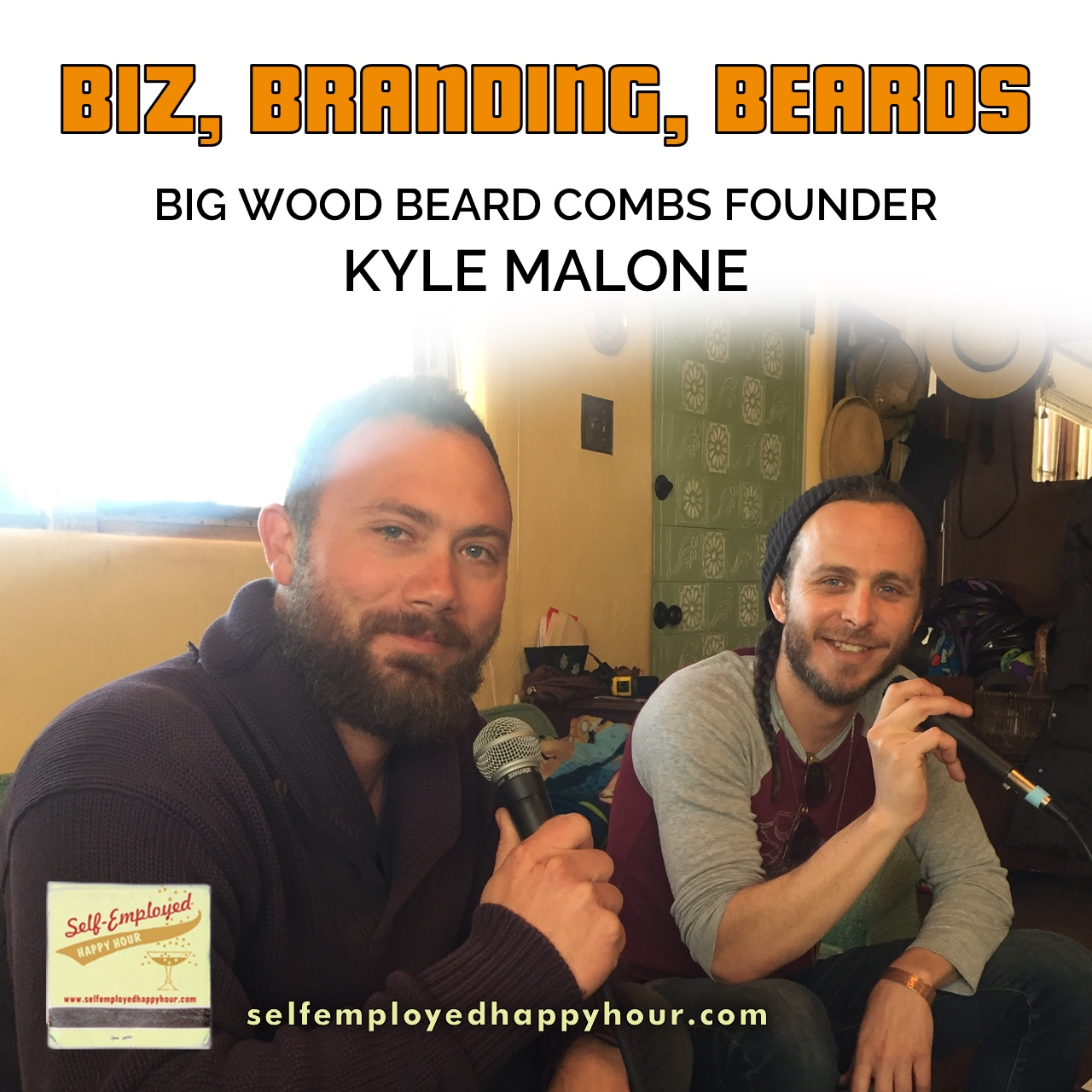 Biz, Branding, Beards: Big Wood Beard Combs Founder Kyle Malone