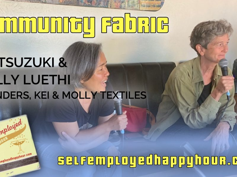 Community Fabric: Kei Tsuzuki and Molly Luethi of Kei & Molly Textiles