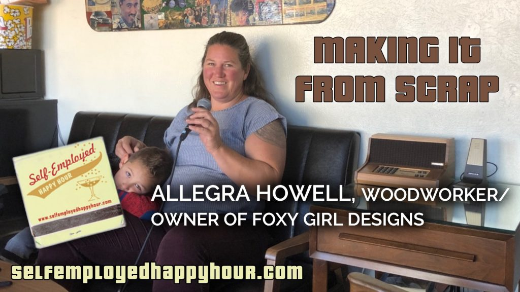 Allegra Howell, Owner of Foxy Girl Designs - Peri Pakroo, Author and Coach
