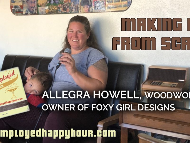 Making It from Scrap: Allegra Howell, Woodworker and Owner of Foxy Girl Designs