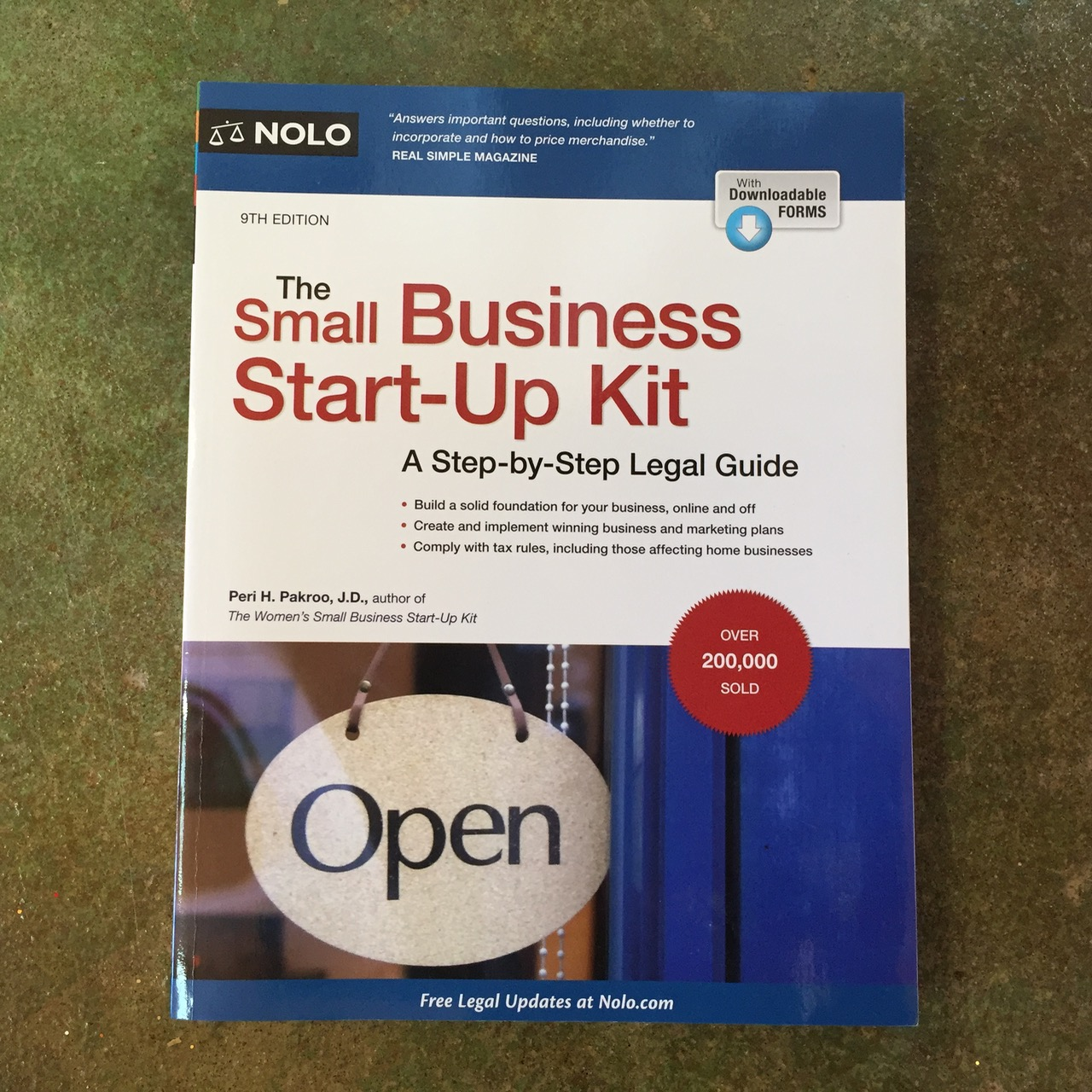 The Small Business Start-Up Kit by Peri Pakroo