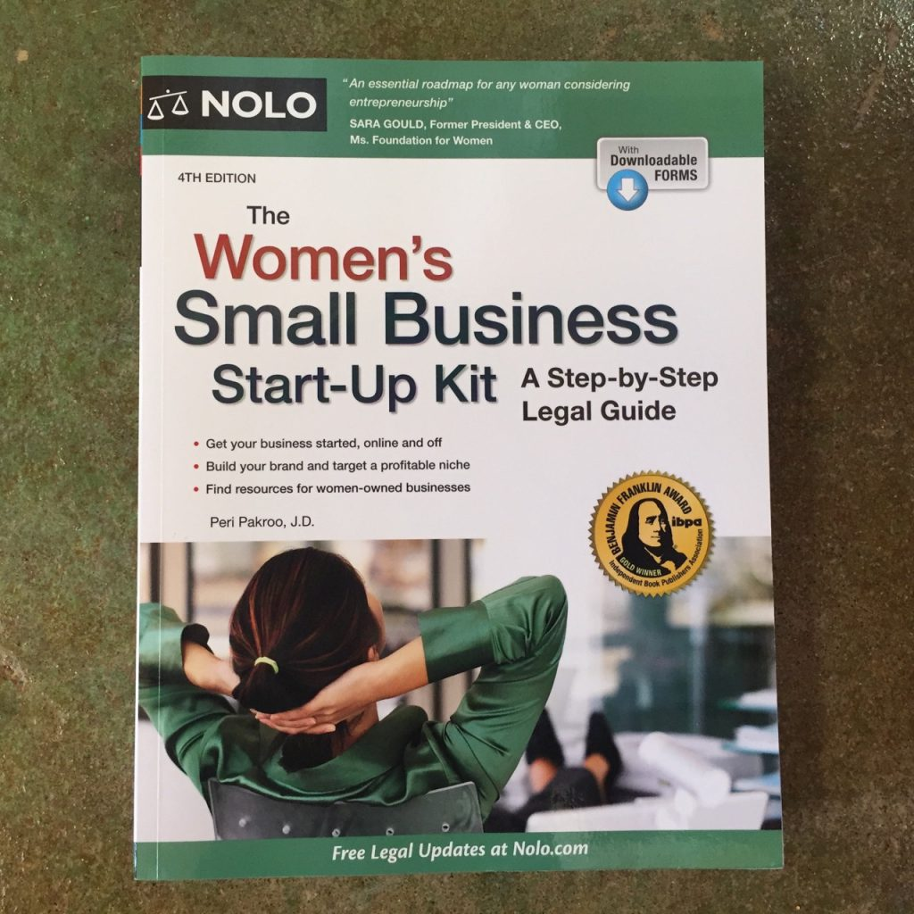 The Women's Small Business Start-Up Kit by Peri Pakroo
