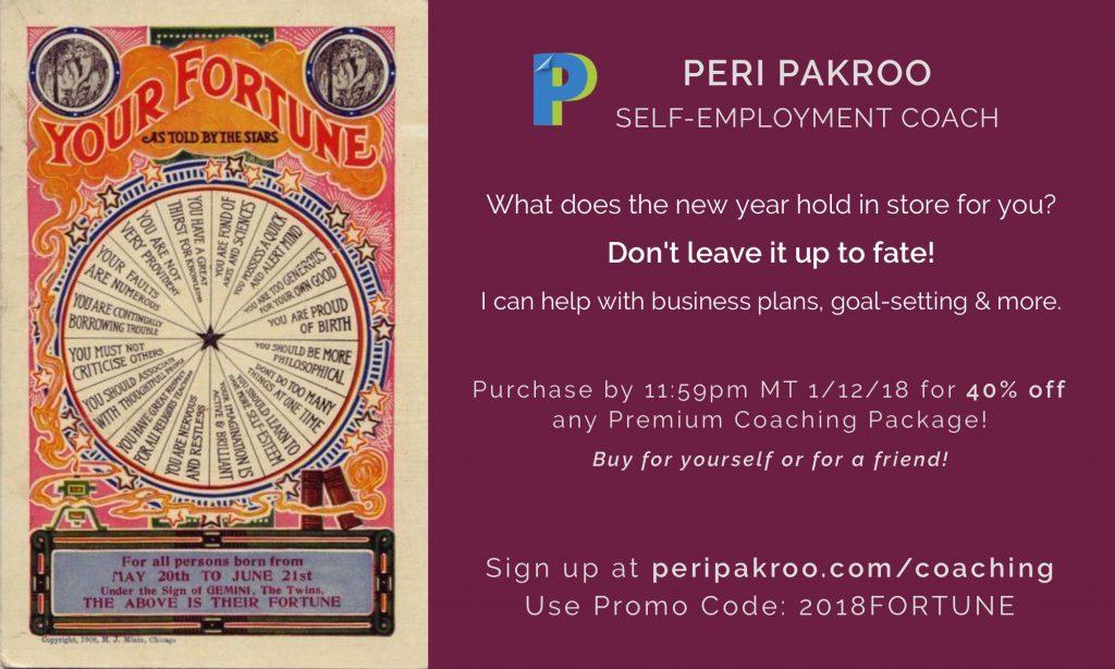 Coaching Deals - Peri Pakroo, Self-Employment Author & Coach