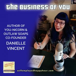 Danielle Vincent, Author of You-Nicorn - Peri Pakroo, Self-Employment Coach