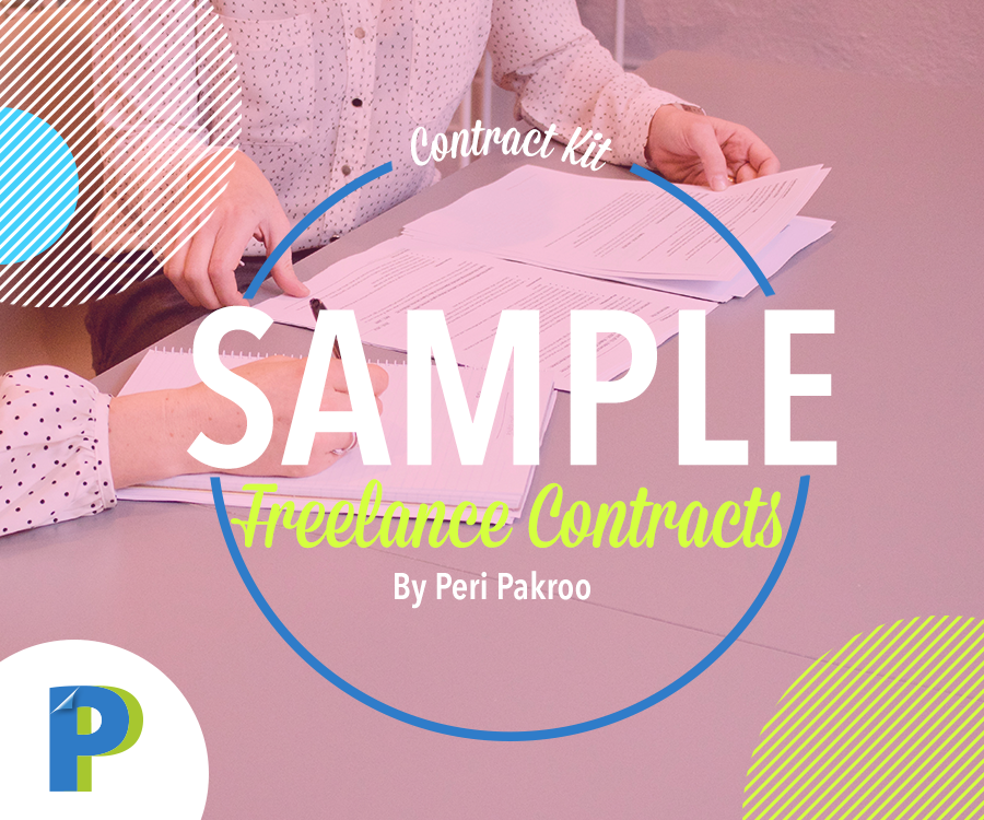 Sample Freelance Contracts Kit - Peri Pakroo, Author and Coach