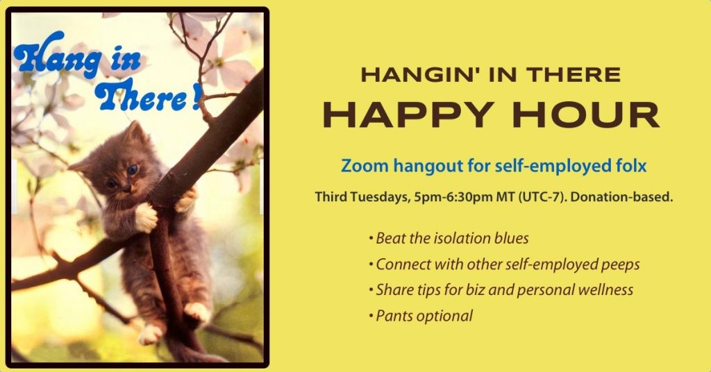 Hangin' In There Happy Hour - Peri Pakroo, Author and Coach