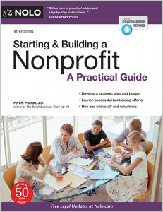 Starting & Building a Nonprofit: A Practical Guide by Peri Pakroo