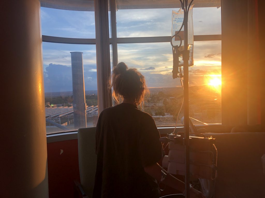 Hospital room with a view - Peri Pakroo, Author and Coach
