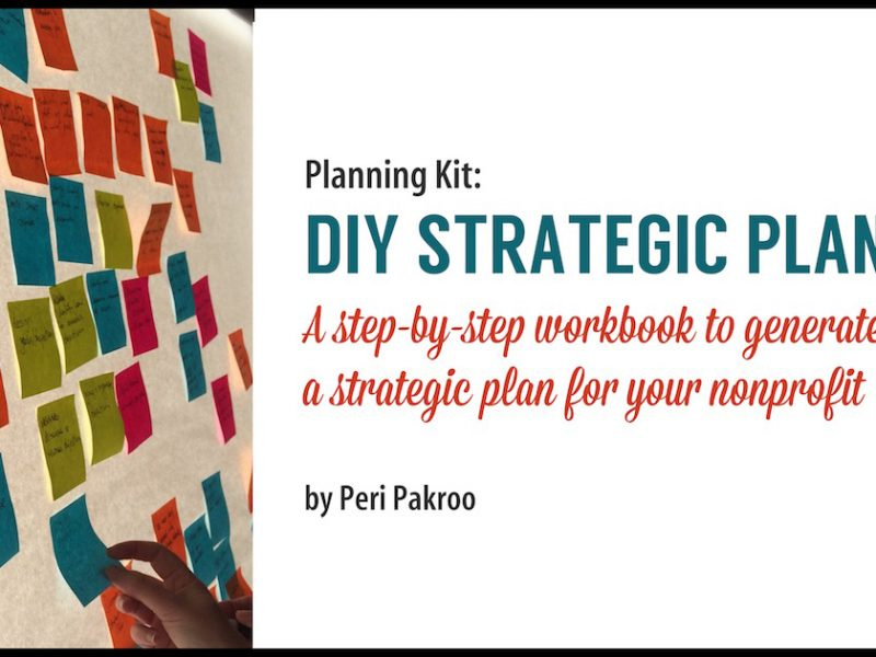 New Guide at my Bookstore: DIY Strategic Plan Kit