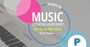 Music Licensing Agreement - Peri Pakroo, Author and Coach