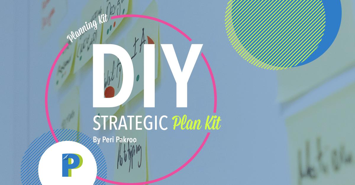 New Guide at my Bookstore: DIY Strategic Plan Kit